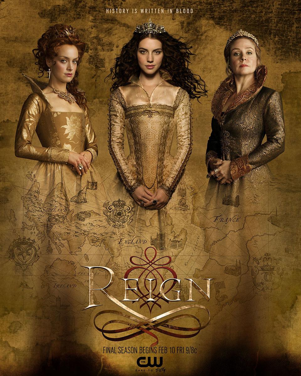 Reign Season 4 COMPLETE 480p & 720p