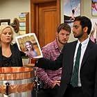 Amy Poehler, Chris Pratt, and Aziz Ansari in Parks and Recreation (2009)