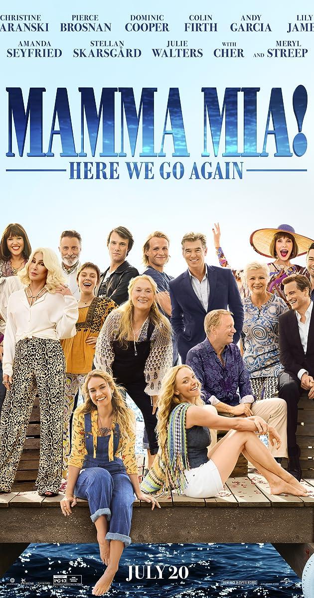 Mamma Mia! 2: Hãy yêu như chưa từng yêu – Here We Go Again (2018)