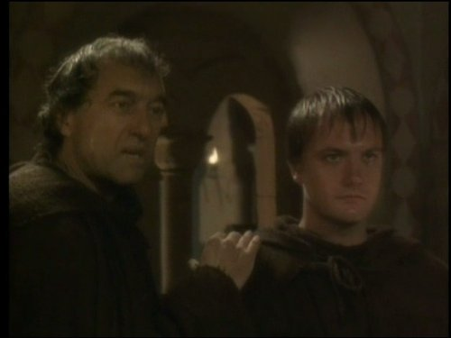 George Irving and Benedict Sandiford in Cadfael (1994)