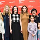 Rosanna Arquette, Jena Malone, So Yong Kim, Amy Seimetz, Riley Keough, and Brooklyn Decker at an event for Lovesong (2016)