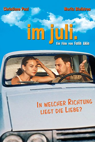 Moritz Bleibtreu and Christiane Paul in Im Juli (2000)