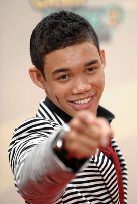 Roshon Fegan at an event for Camp Rock 2: The Final Jam (2010)