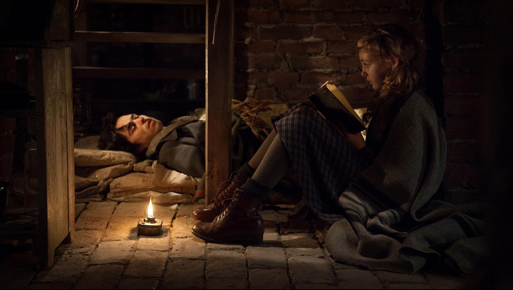 Ben Schnetzer and Sophie Nélisse in The Book Thief (2013)