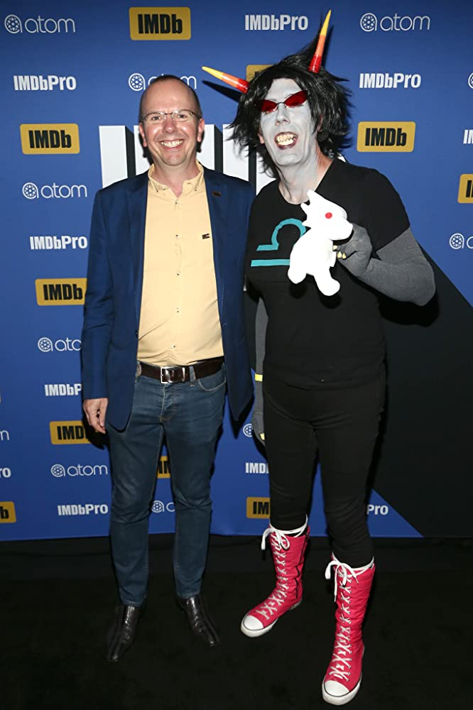 Col Needham at an event for IMDb at San Diego Comic-Con 2018 2018