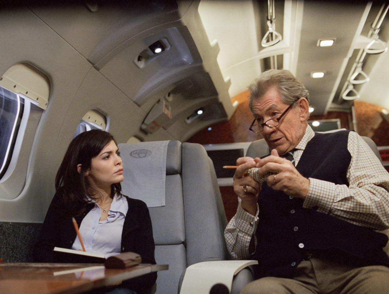 Ian McKellen and Audrey Tautou in The Da Vinci Code (2006)