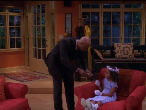 Damon Wayans and Parker McKenna Posey in My Wife and Kids (2001)