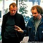 Stellan Skarsgård with director Mike Figgis