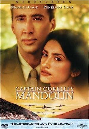 La mandolina del capitán Corelli Cartel de la película