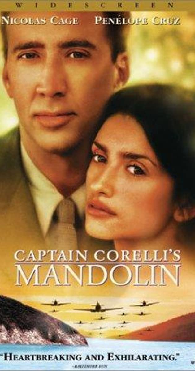 Watch Full HD Movie Captain Corelli's Mandolin (2001)