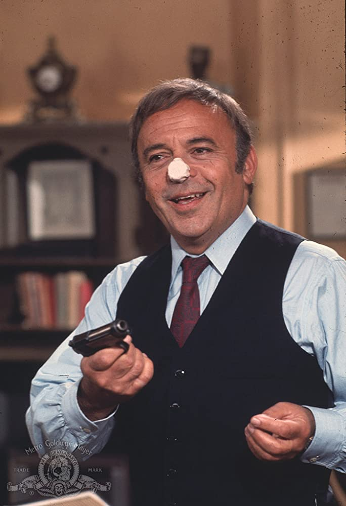 Herbert Lom in The Return of the Pink Panther 1975