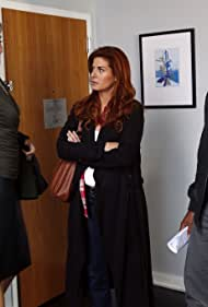 Debra Messing, Laz Alonso, and Brenda Strong in The Mysteries of Laura (2014)