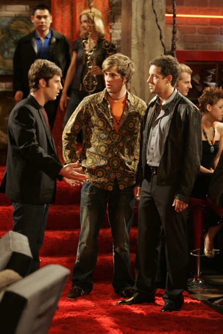 Shane McRae, Josh Cooke, and Todd Grinnell in Four Kings (2006)