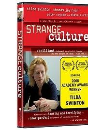 Strange Culture Poster