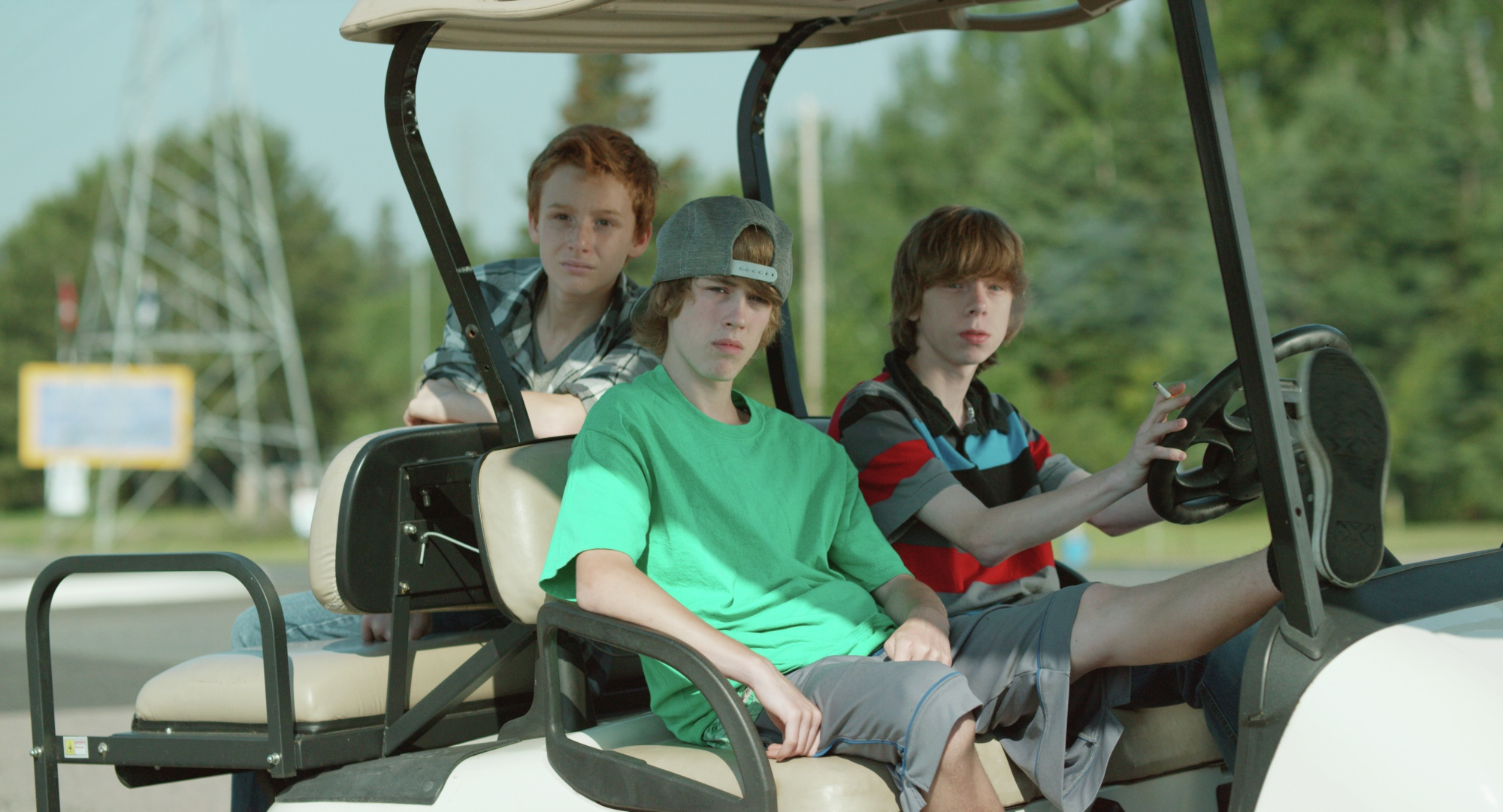 Jackson Martin, Reece Moffett, and Nick Serino in Sleeping Giant (2015)