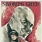 Erich von Stroheim and Zasu Pitts in Greed (1924)