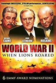 Michael Caine, Bob Hoskins, and John Lithgow in World War II: When Lions Roared (1994)