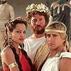 Val Kilmer, Angelina Jolie, and Colin Farrell in Alexander (2004)