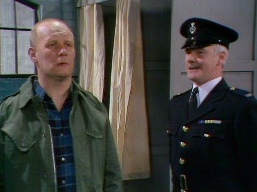 Brian Glover and Fulton Mackay in Porridge (1974)
