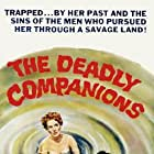 Maureen O'Hara, Brian Keith, Steve Cochran, and Chill Wills in The Deadly Companions (1961)