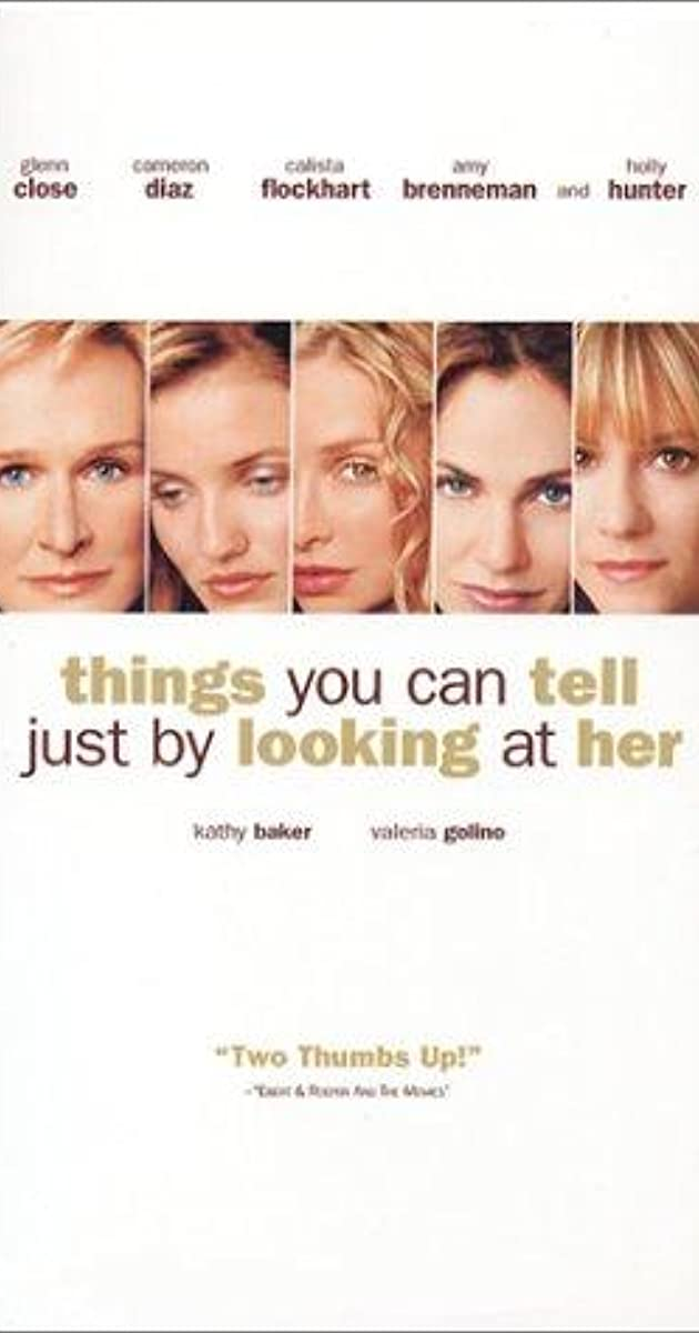 Things You Can Tell Just by Looking at Her (2000) - IMDb
