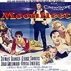 Stewart Granger, George Sanders, Joan Greenwood, Viveca Lindfors, and Jon Whiteley in Moonfleet (1955)