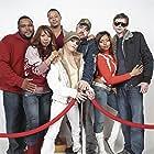 Terrence Howard, Elise Neal, Anthony Anderson, Craig Brewer, Taraji P. Henson, Taryn Manning, and DJ Qualls in Hustle & Flow (2005)
