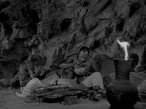 Wesley Gale and Smoki Whitfield in Adventures of Superman (1952)