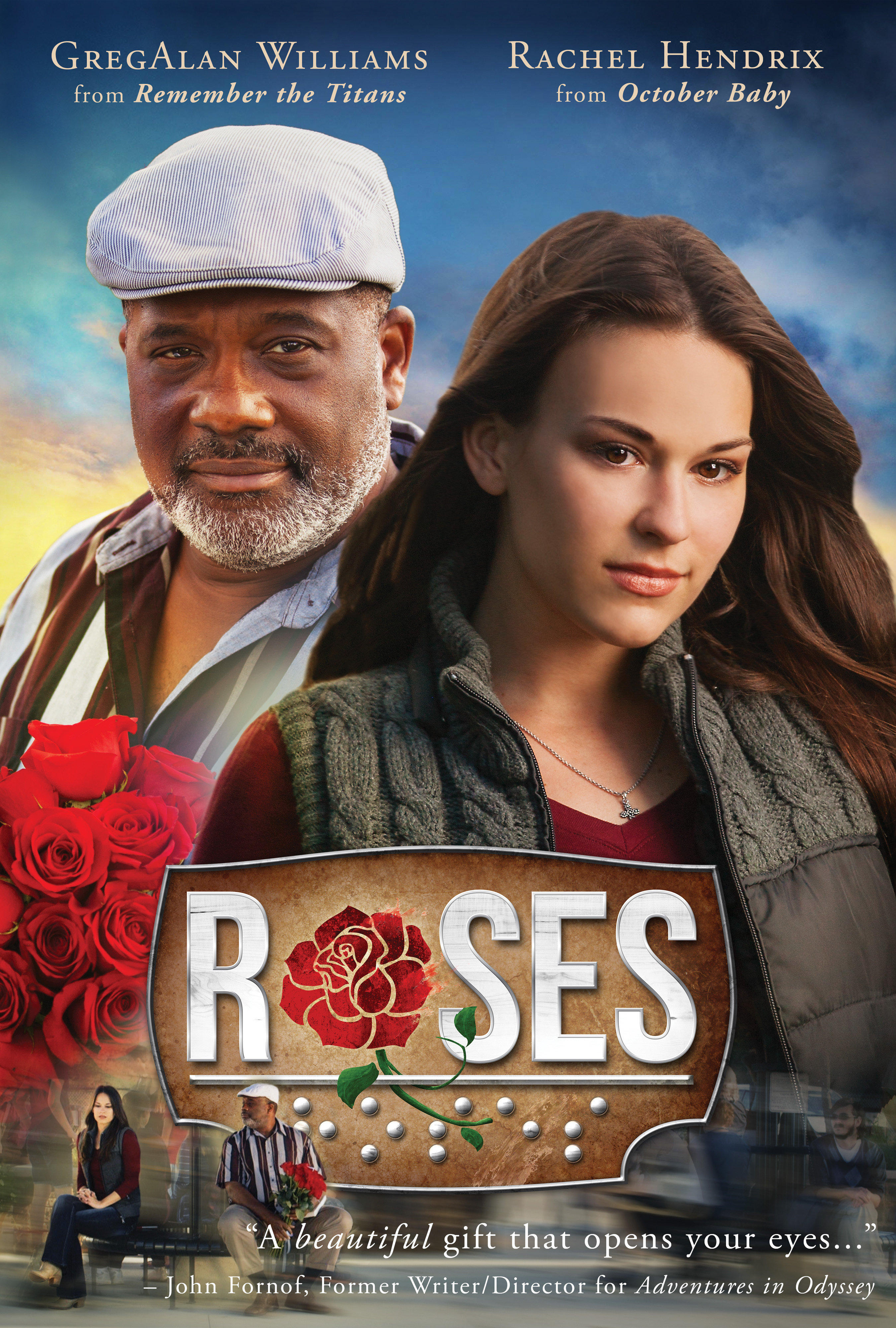 Gregory Alan Williams and Rachel Hendrix in Roses (2014)