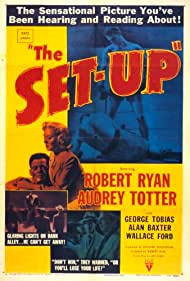 Robert Ryan and Audrey Totter in The Set-Up (1949)