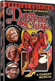 Don't Play Us Cheap (1972) Poster - Movie Forum, Cast, Reviews