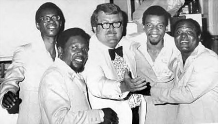 """Ken """"Hubcap"""" Carter with The Drfters"""