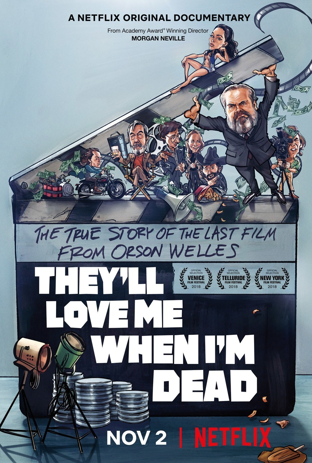 Image result for they'll love me when i'm dead movie poster