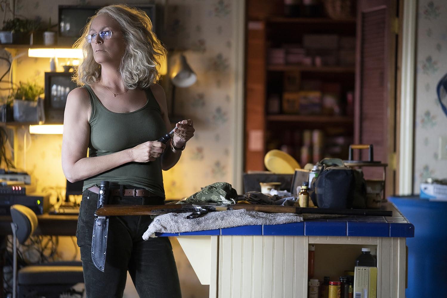 Jamie Lee Curtis Halloween (2018) movie review crítica