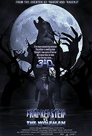 Frankenstein vs. the Wolfman in 3-D Poster
