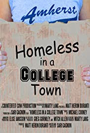 Homeless in a College Town Poster