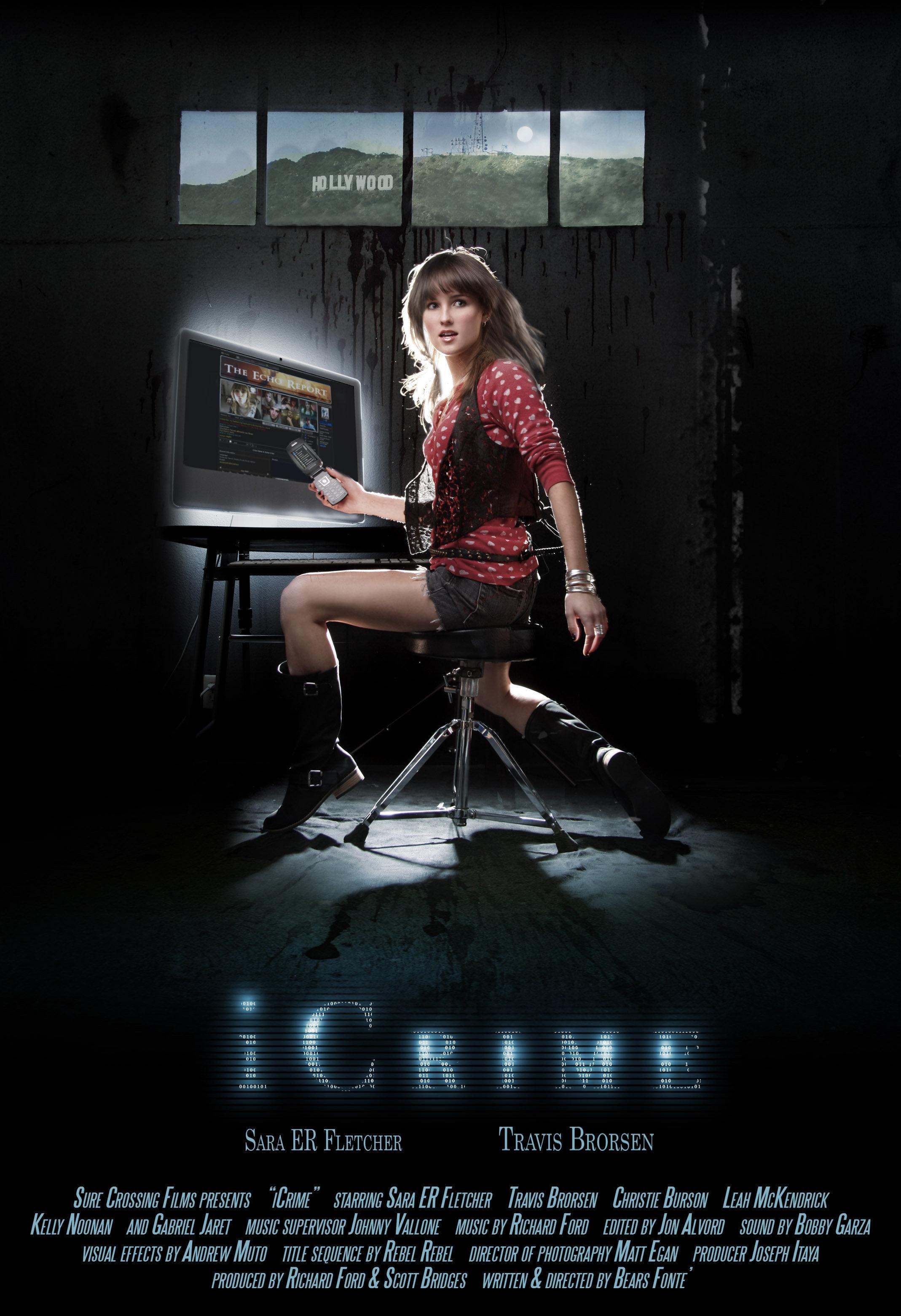 Sara Fletcher in iCrime (2010)