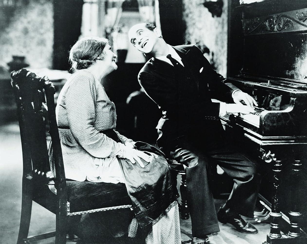 Eugenie Besserer and Al Jolson in The Jazz Singer (1927)