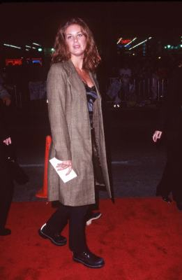 Rachel Hunter at an event for Spice World (1997)