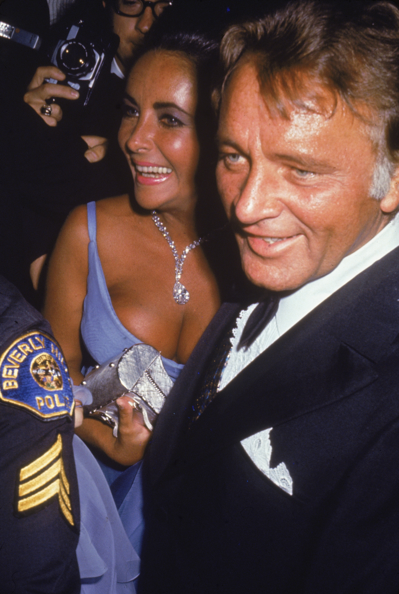 Richard Burton and Elizabeth Taylor at an event for The 42nd Annual Academy Awards (1970)