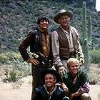 """""""High Chaparral, The"""" Mark Slade, Cameron Mitchell, Leif Erickson, Henry Darrow 1968 NBC"""