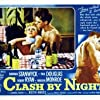 Marilyn Monroe, Barbara Stanwyck, Keith Andes, and Robert Ryan in Clash by Night (1952)