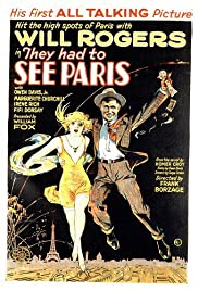 They Had to See Paris(1929) Poster - Movie Forum, Cast, Reviews