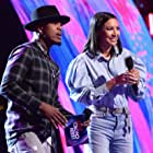 Naya Rivera and Ne-Yo at an event for Teen Choice Awards 2017 (2017)