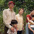 Yuh-Jung Youn, Alan S. Kim, Noel Cho, Steven Yeun, and Yeri Han in Minari (2020)