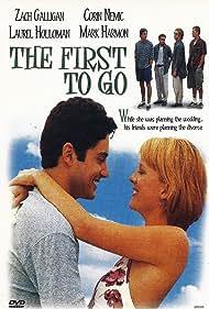 Mark Harmon, Zach Galligan, Corin Nemec, Joe Flanigan, and Laurel Holloman in The First to Go (1997)