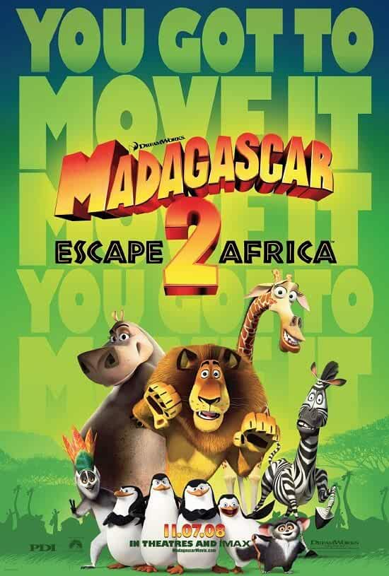 Madagascar: Escape 2 Africa (2008) Dual Audio [Hindi + English] | x264 Bluray | 720p | 480p | Download | Watch Online | GDrive | Direct Links