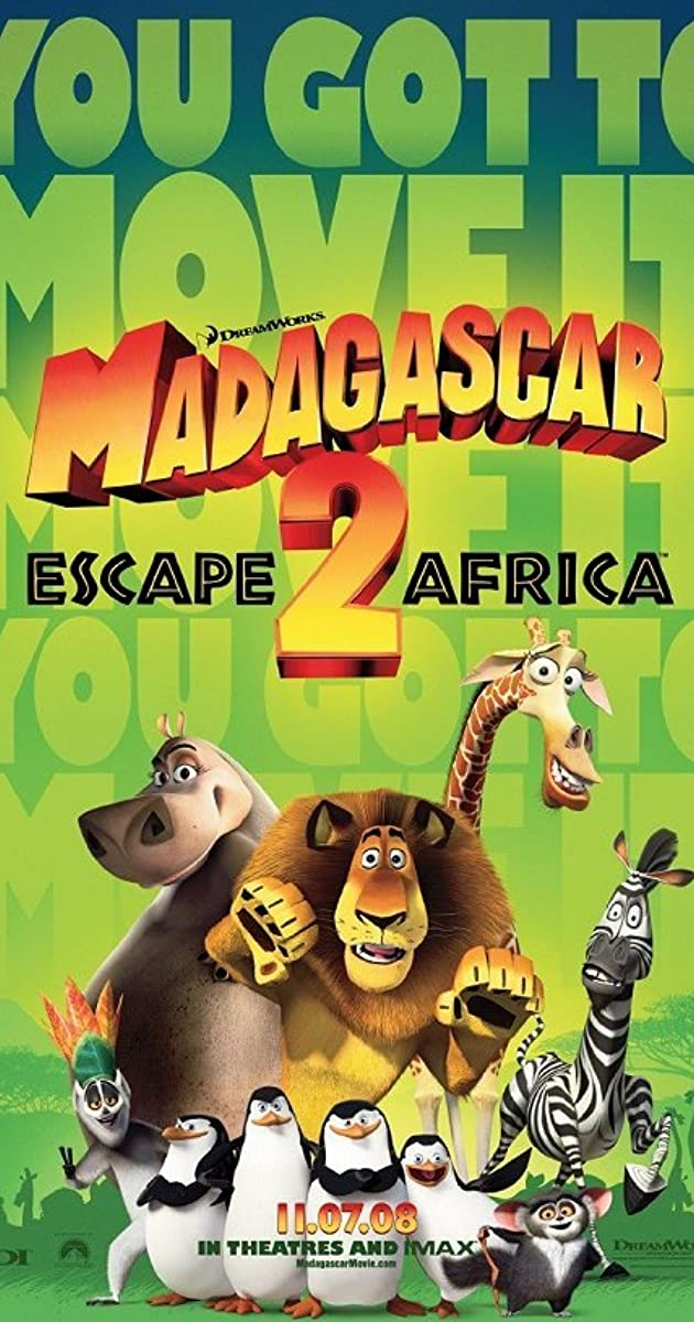 Madagascar: Escape 2 Africa (2008) - IMDb