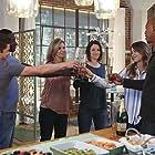 Helen Slater, David Harewood, Chyler Leigh, Mehcad Brooks, Melissa Benoist, and Jeremy Jordan in Supergirl (2015)
