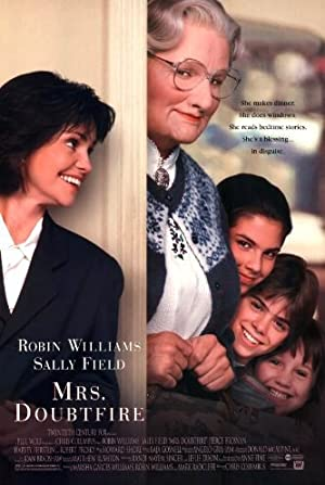 Mrs. Doubtfire Poster Image